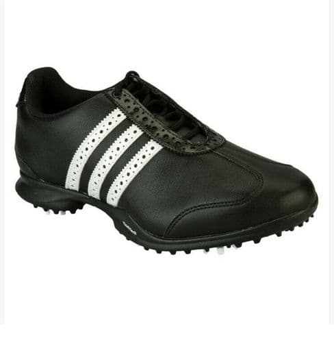 Ladies adidas Driver Val S Black White Casual Sport Lace Up Ladies Golf Shoes
